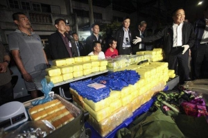 Police identified the truck owner, a Thai national of Hmong descent, in northern Tak province's Phop Phra district. Drug