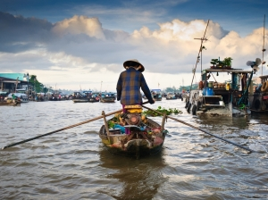 The luxurious Mekong Sun. Photo / Supplied The village of the Hmong people is on the next day's itinerary. Being their N