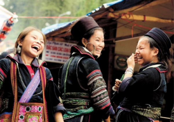 The Hmong gives this place its special local flavor. Sapa is rife with romantic undertones. Moon, my Hmong guide told me
