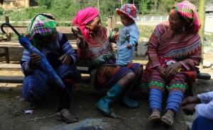 Hmong temporarily settled on Thai soil