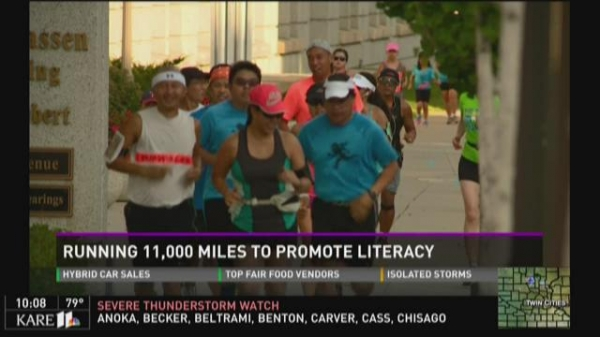 Hmong man running 11,000 miles to help fight child illiteracy