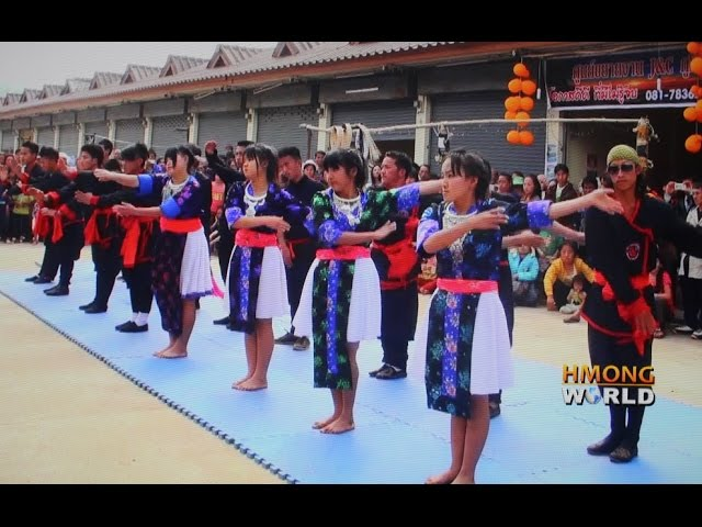 HMONGWORLD: HMONG LERXING (HMOOB LAWJ XEEB) DEMONSTRATION, Chiang Rai, Thailand