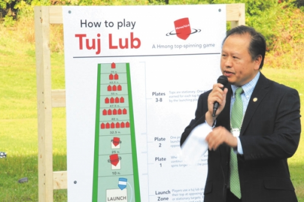Vue experience being reunited with a traditional Hmong game in Minnesota is one that project planners hope many others w