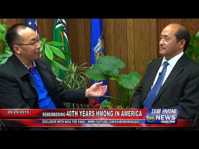 SUAB HMONG NEWS: Exclusive with Nhia Ger Vang | 40th YEARS HMONG IN AMERICA