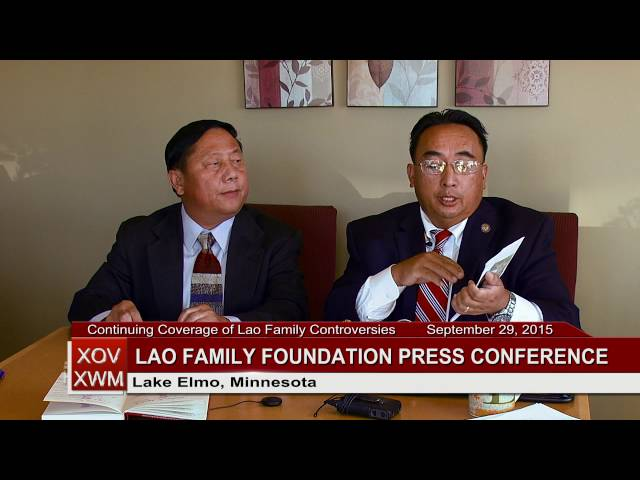 3HMONGTV NEWS: LFF Press Conference - Possible legal action against current LFC Board of Directors.