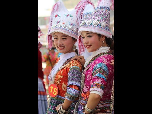 HMONGWORLD: TALENT ROUND - MISS HMONG LONGLIN, CHINA 2015 - NTXHAIS HMOOB SUA