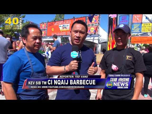 SUAB HMONG NEWS:  Tom Moua won 2nd place in the mainstream Barbecue competition in Reno, NV