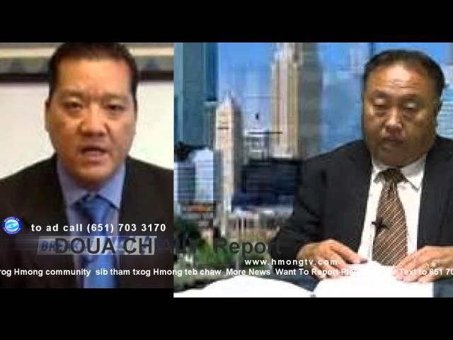 HMONG TV: Chupheng Lee  qhia txog FBI  tuaj ntsib  HMONG COMMUNITY hau mn