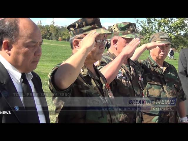 HMONG TV  CAPT BOUA FUE AT WASHITON D C CEMETERY