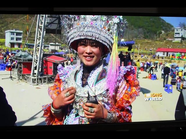 HMONGWORLD: YANG FANG from Longlin, CHINA, TALKS ABOUT HER BEAUTIFUL  HMONG DRESS