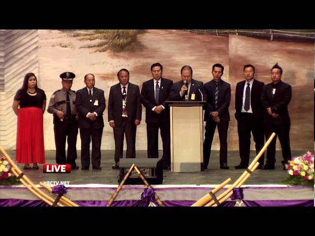 3HMONGTV: Senator Foung Hawj speaks at Hmong American New Year 2016.