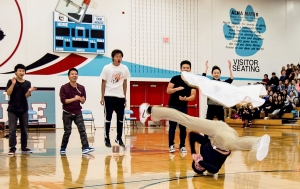 Off Beat: Hmong break dancing crew highlight of North H.S. homecoming pep rally